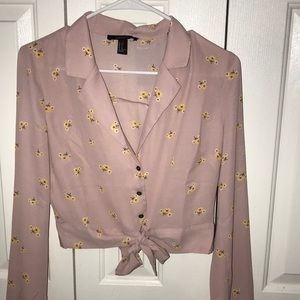 Forever 21 Pink Blouse, brand new